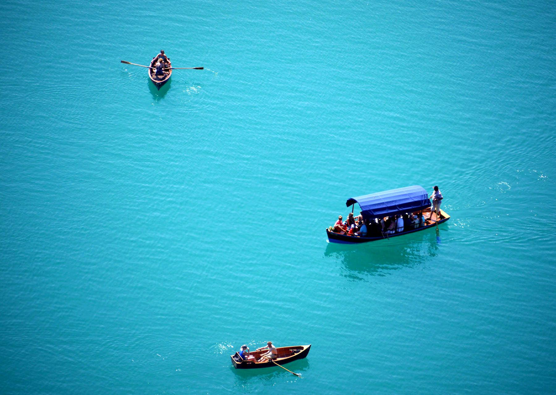 Lake Bled traffic jam