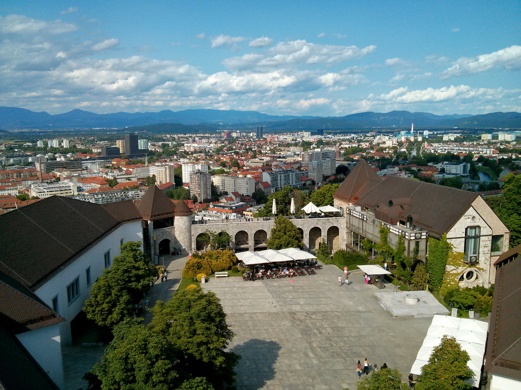 Ljubljana has a delicate charm and is a very popular tourist destination in Europe