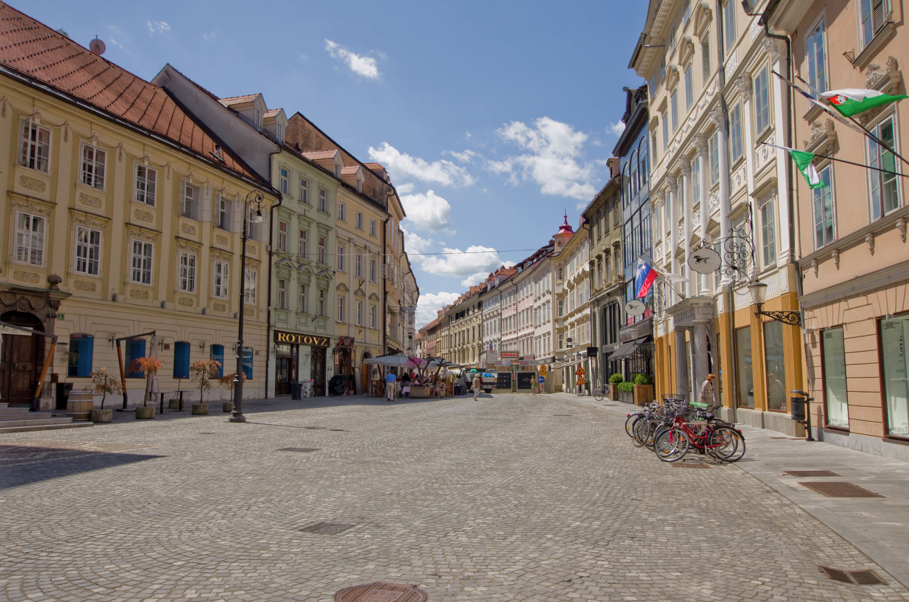 Ljubljana is a lovely city with a beautiful Old Town, restaurants, cafes and shops