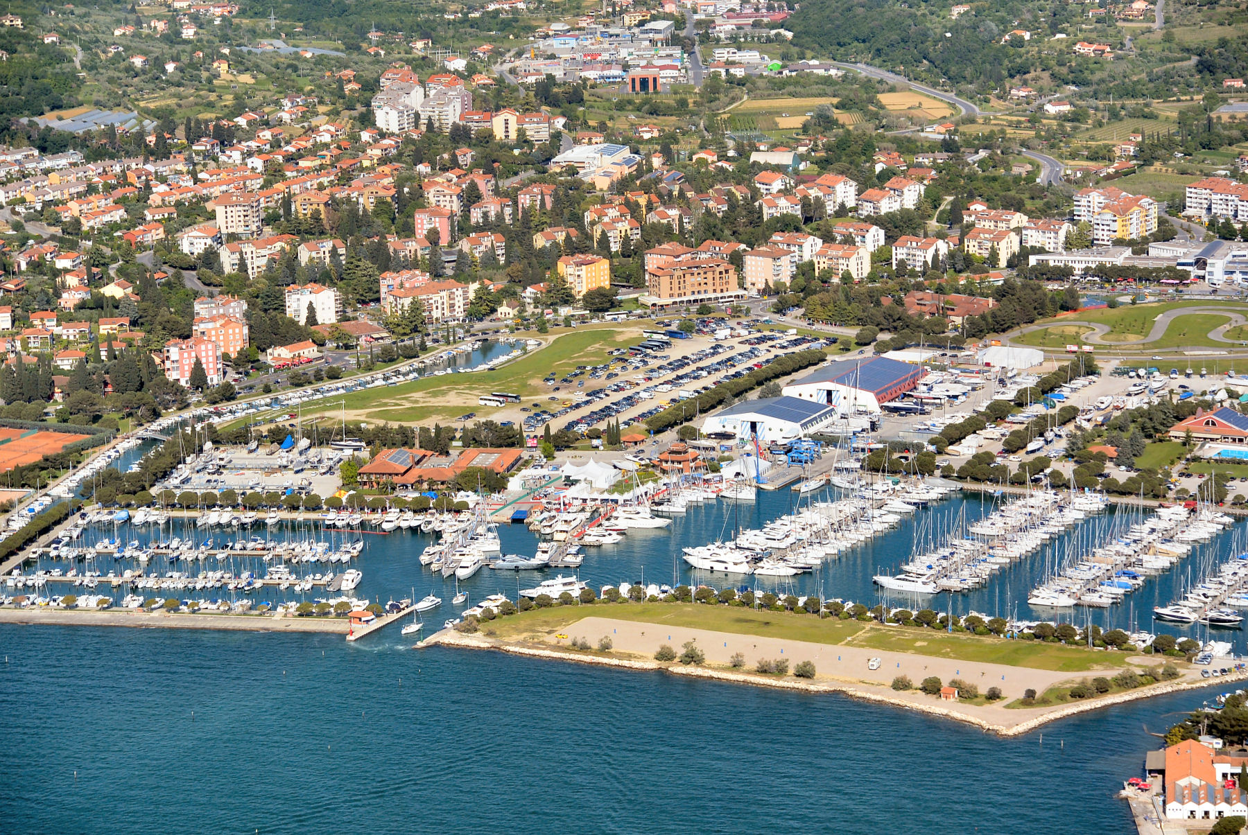 Portoroz Slovenia  city photos : portoroz slovenia from above