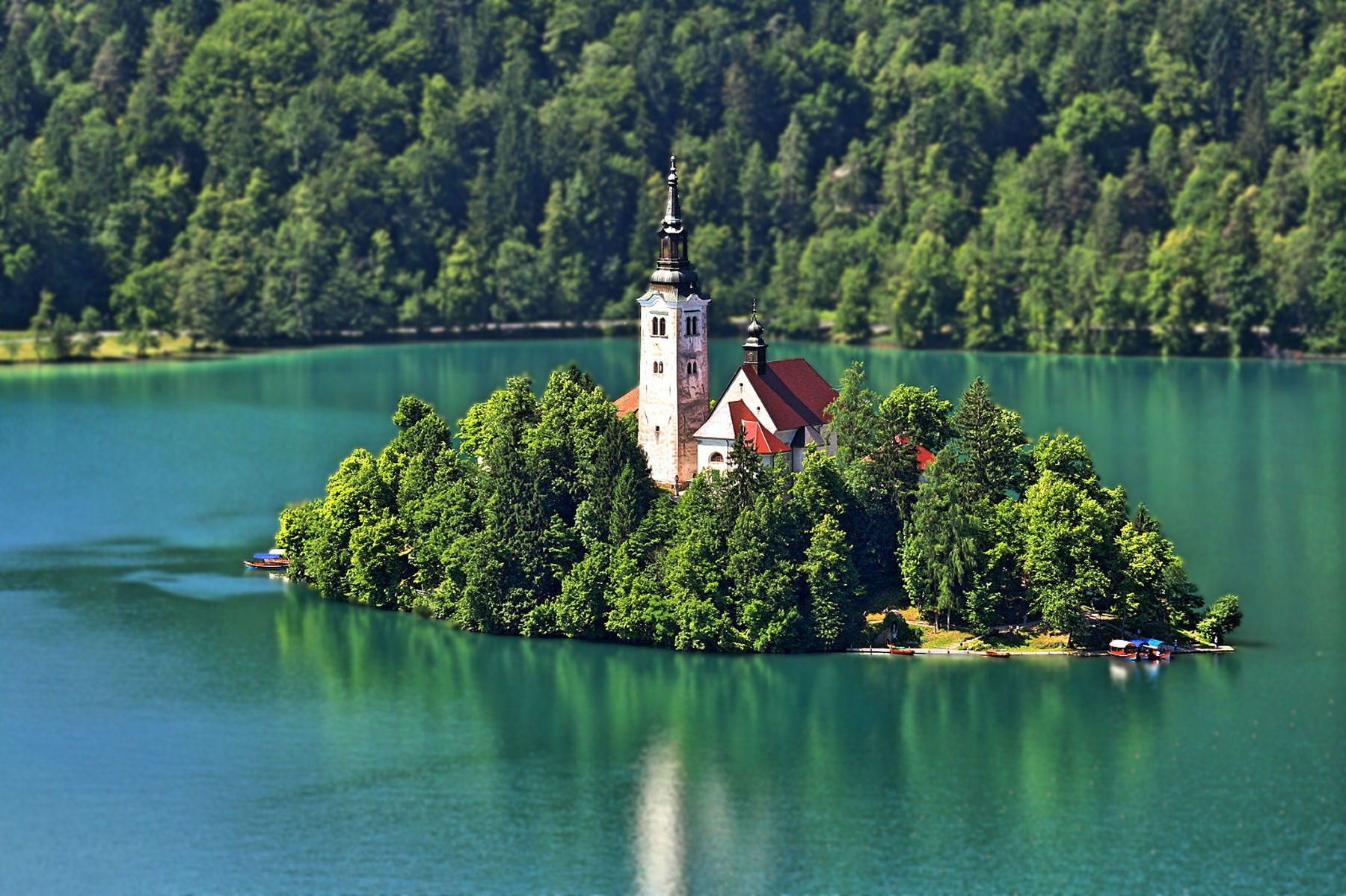 Pilgrimage Church of the Assumption of Mary is known as Our Lady of the Lake