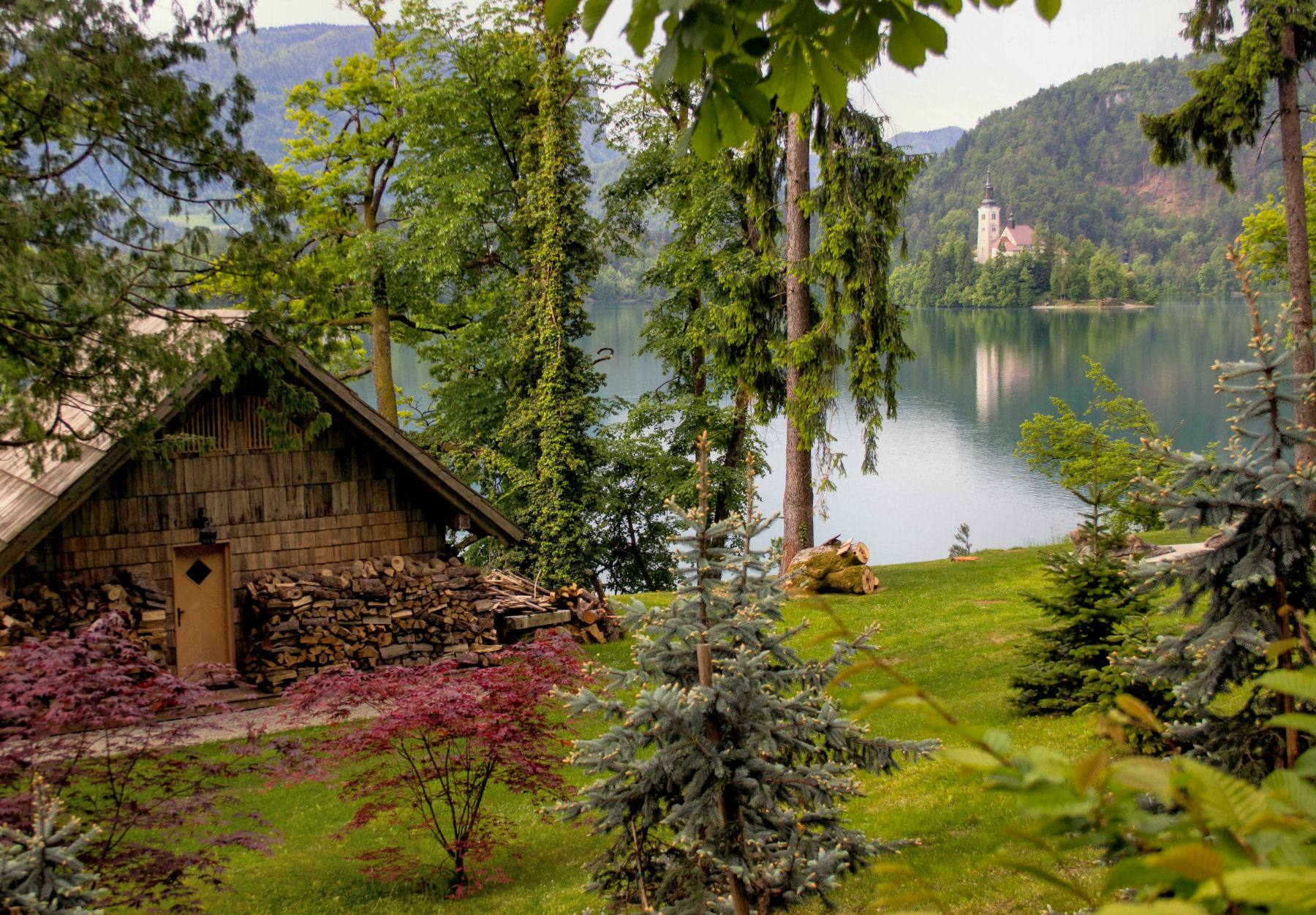 The attribute that makes Bled so extraordinary is definitely its surrounding nature