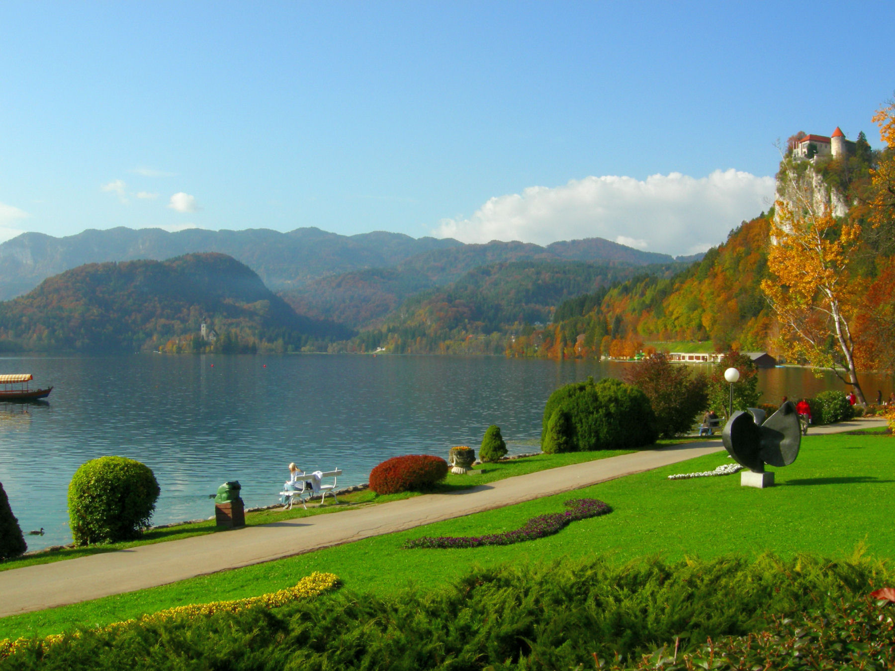 Bled is the perfect place for those who enjoy peace and quiet and stunning views of nature