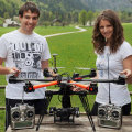 Jure Korber and Tjasa Borsnak drone photographers