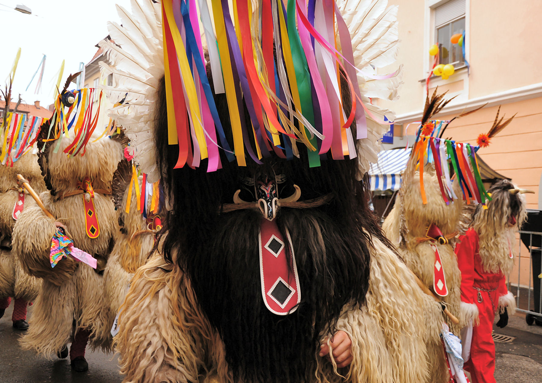 The most famous Slovene carnival figure is the Kurent