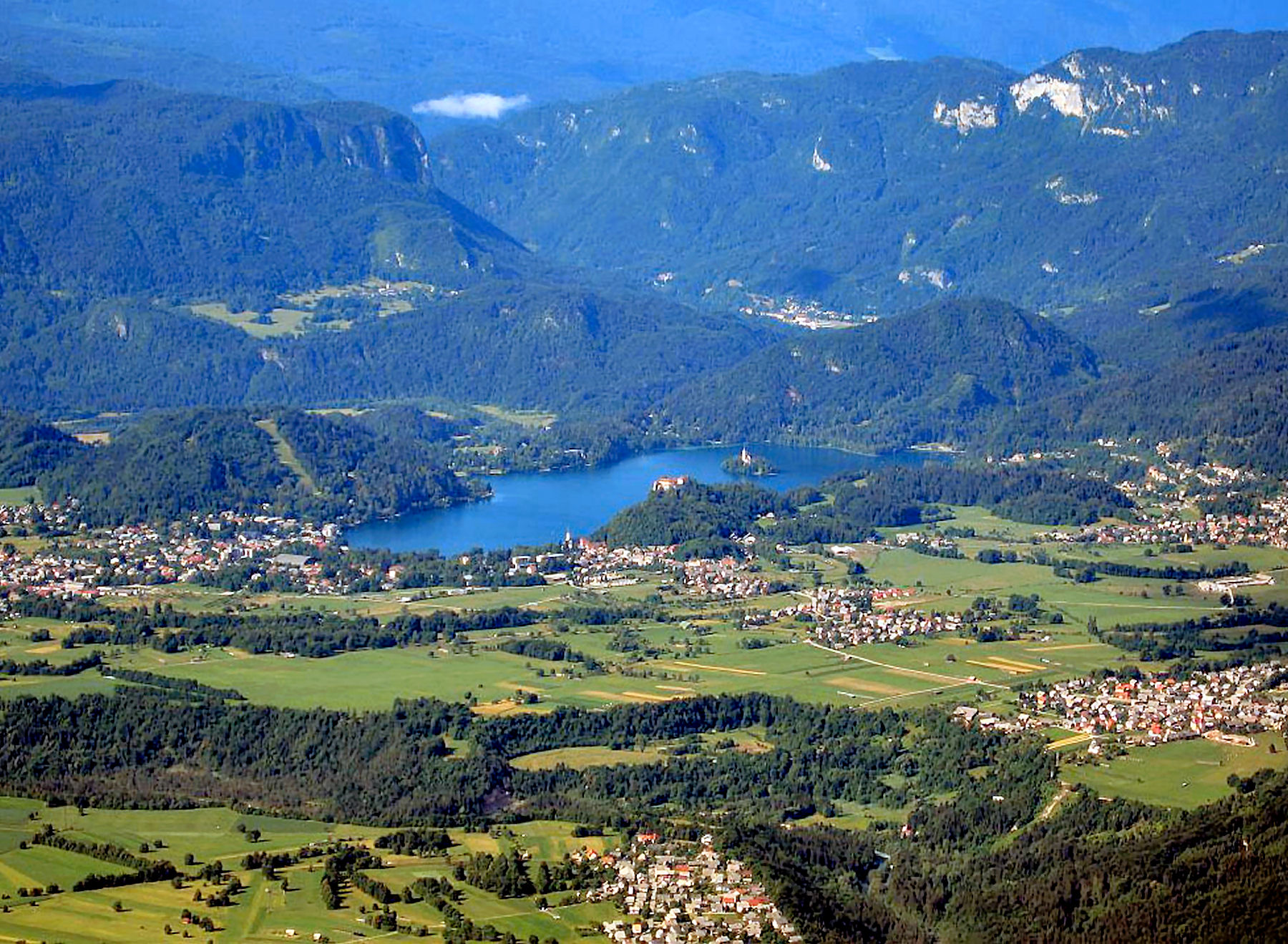 Bled, together with its surroundings, ranks among the most beautiful vacation resorts in Europe