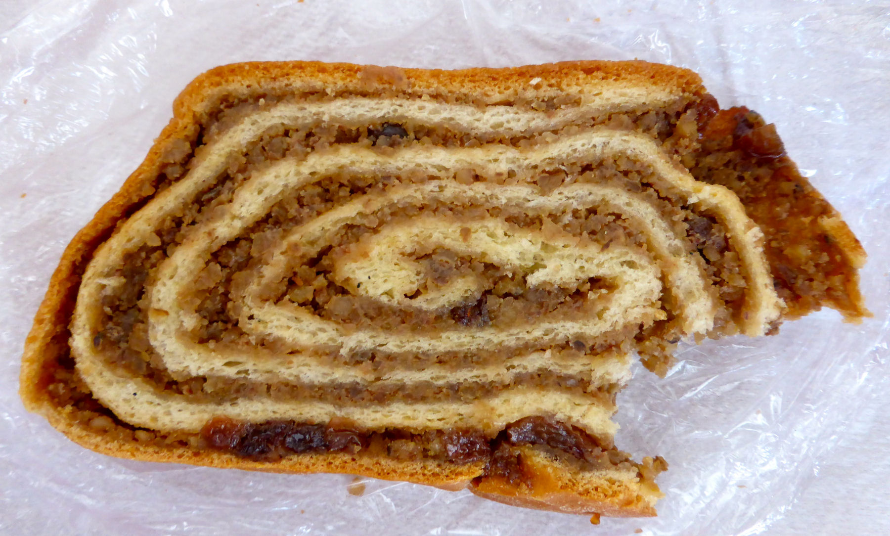 Potica is a traditional Slovenian pastry