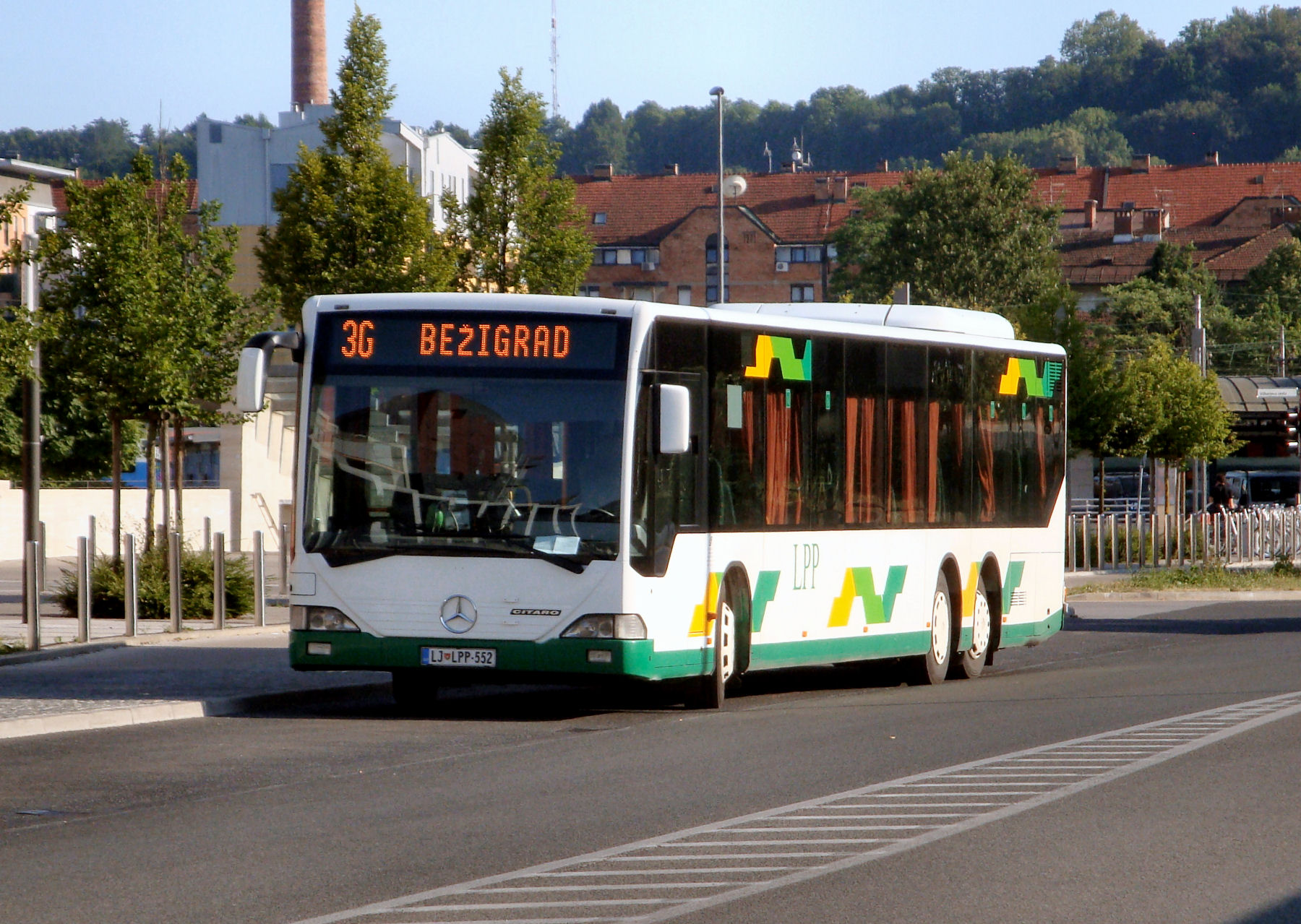 Arriving to Slovenia by Bus