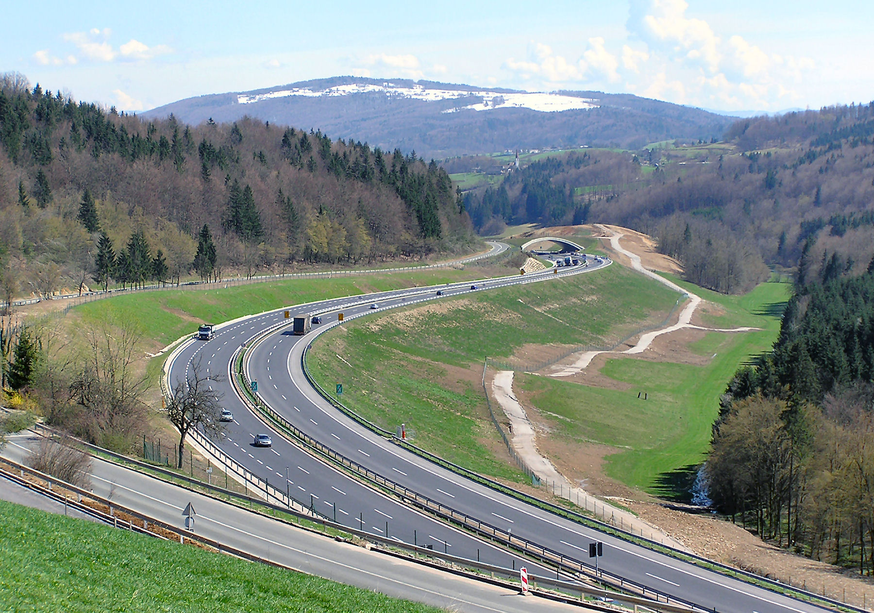 Motorway in Slovenia