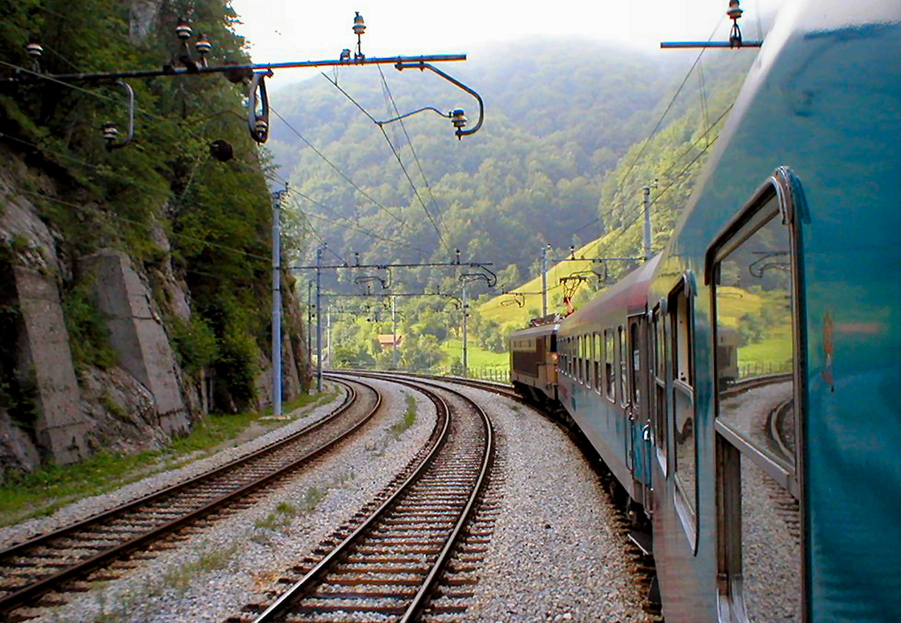 Trains to Slovenia run every day from numerous European cities