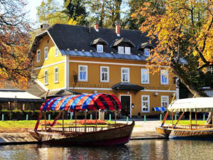 Exterior of Guest House Mlino in Bled, Slovenia