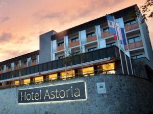 Exterior of Hotel Astoria Superior, Bled, Slovenia