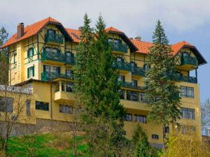 Exterior of Hotel Triglav, Bled, Slovenia