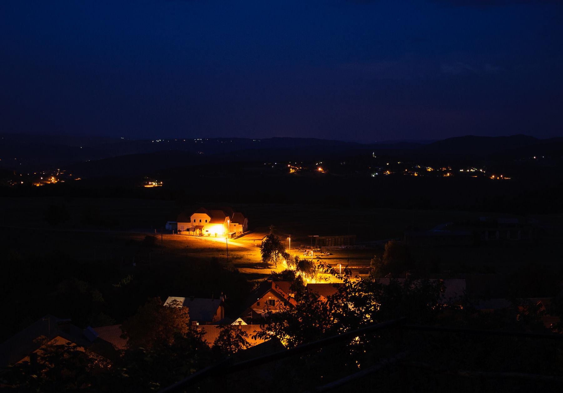 Golo at night