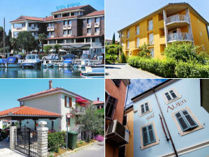 Izola accommodations