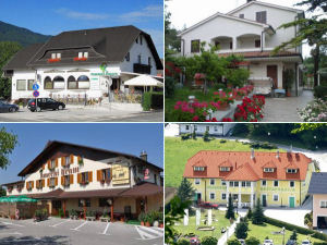 Collage of Slovenia guest houses