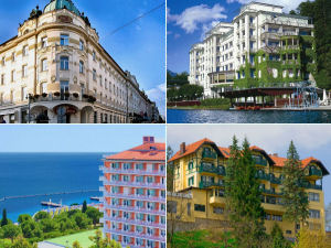 Collage of Slovenia hotels