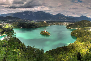 Lake Bled tumb