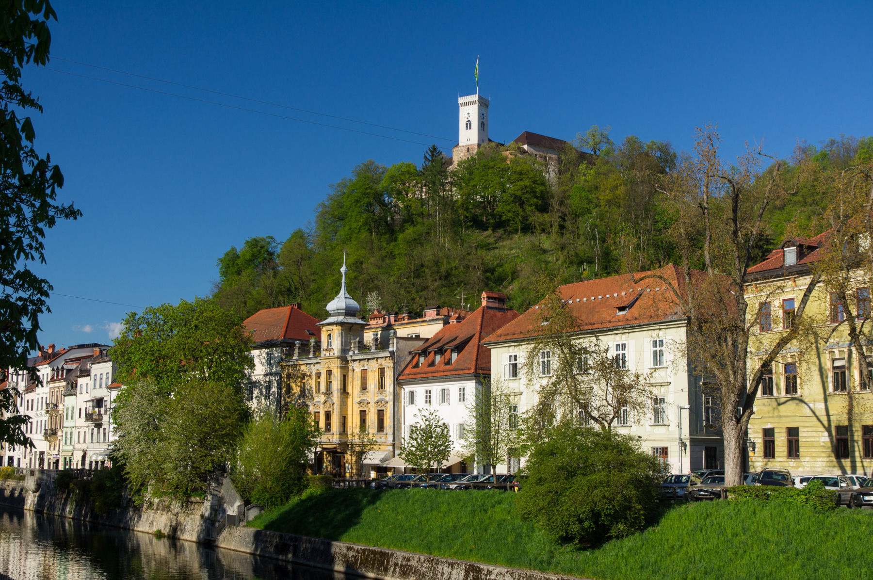 Another view of the Ljubljana castle, Slovenia