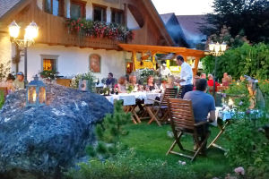 Finefood Penzion Berc restaurant in Bled
