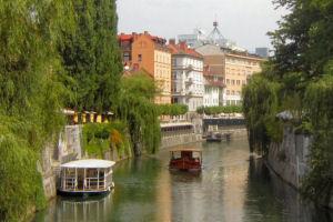 Ljubljanica river canal, Ljubljana-300