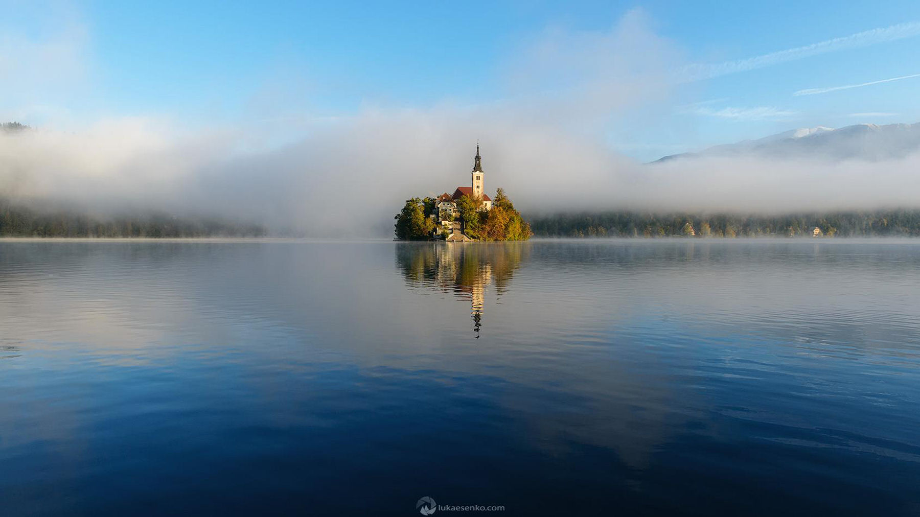 Bled Island Is Barely Large Enough To Embrace The 15thcentury Church Of  The Assumption
