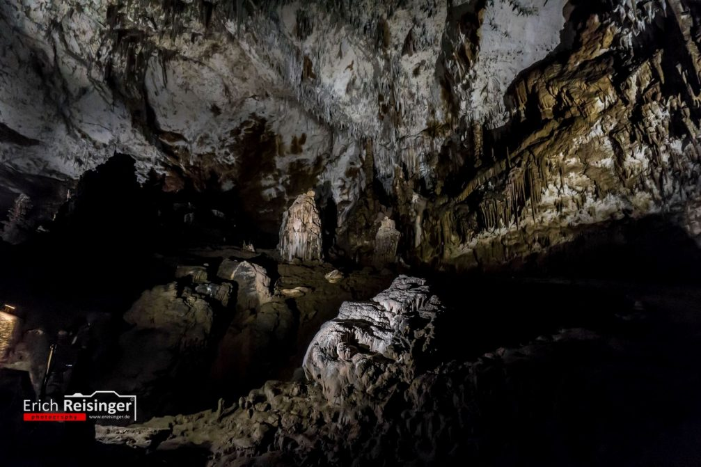 An extraordinary view inside the Skocjan Caves in Slovenia