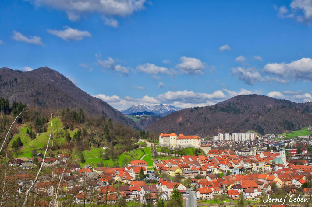 Skofja Loka is the oldest and most carefully preserved medieval town in Slovenia
