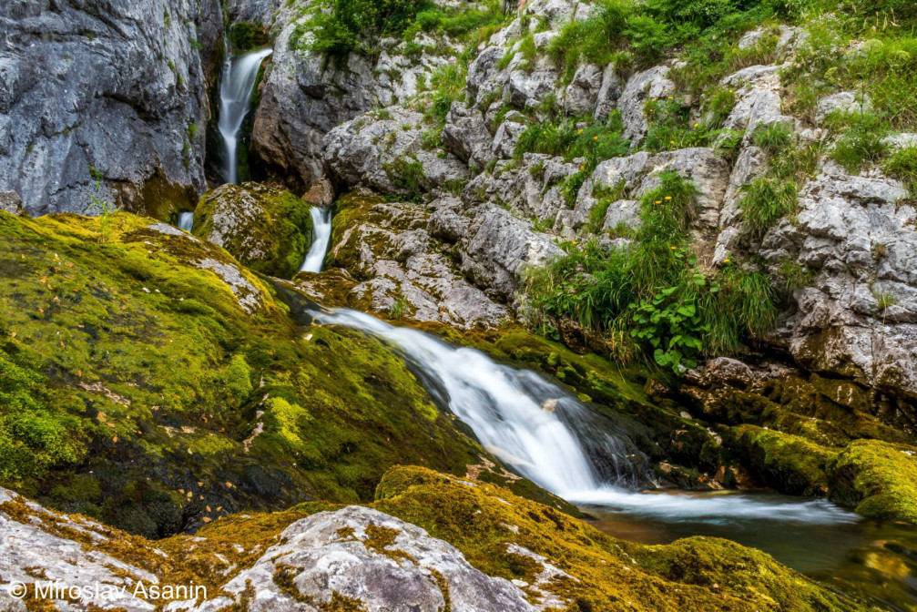 Soca River near its source, Triglav National Park, Slovenia