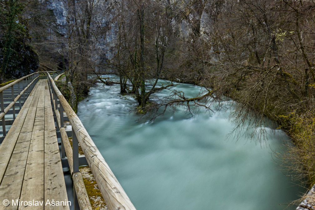 Unica is one of the most beautiful rivers in Slovenia