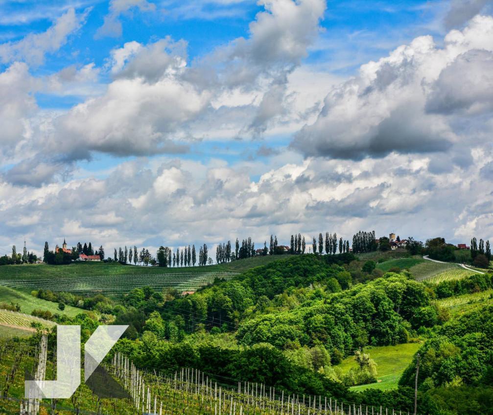 The Ljutomer Ormoz wine region of Slovenia