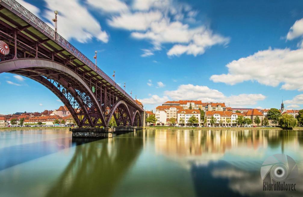 Set on the Drava river, Lent is the oldest part of Maribor, Slovenia