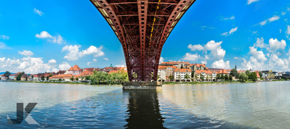 Lent lies along River Drava and is the oldest part of the city of Maribor, Slovenia