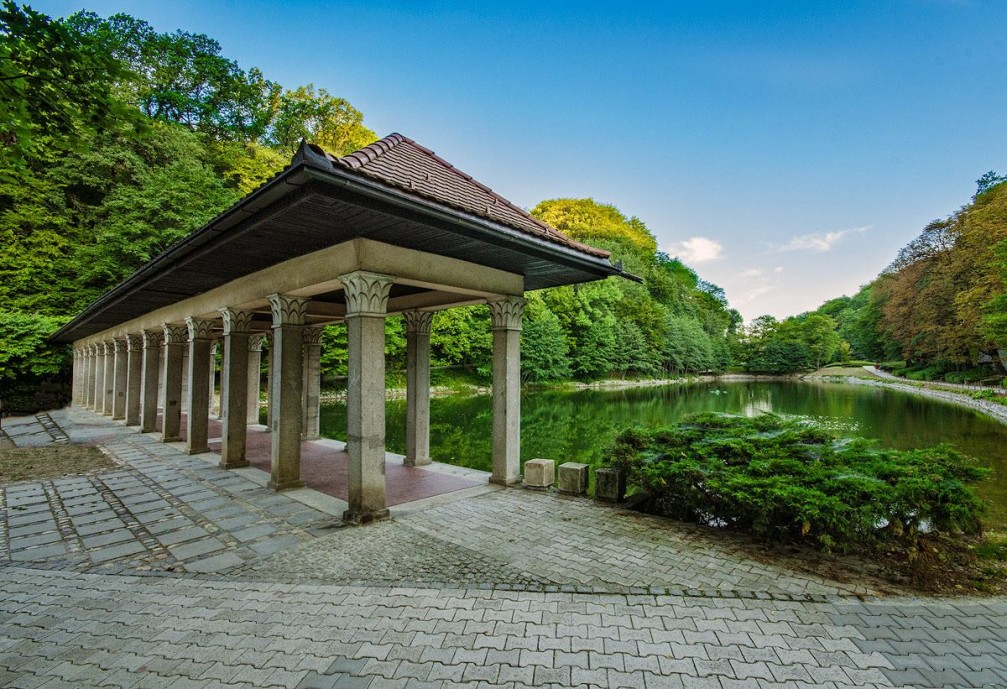 Maribor City Park in the Styria region of Slovenia