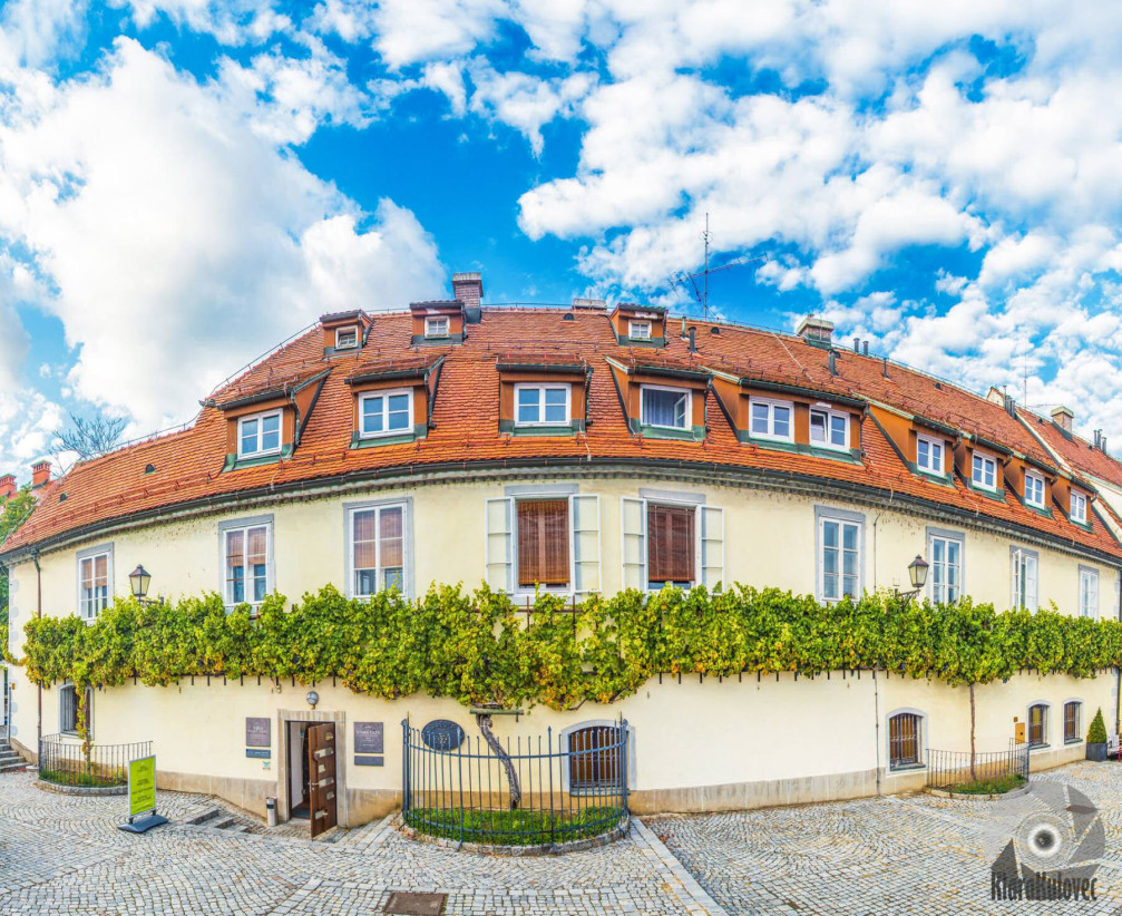 Old Vine House with the oldest grape vine in the world, Lent, Maribor, Slovenia