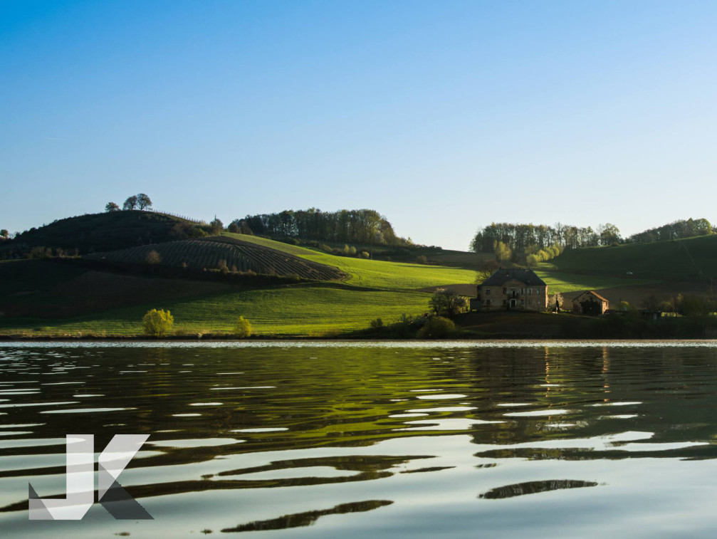 Lake Pernica in the Styria region of Slovenia