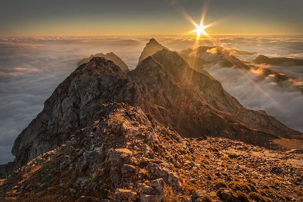 Planjava is a 2,394 meter high mountain peak in the Kamnik–Savinja Alps, Slovenia