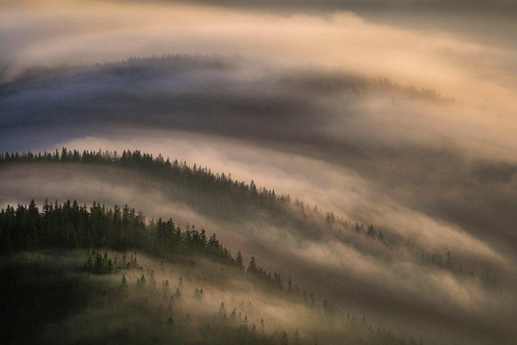 Smrekovec Mountains in the Kamnik–Savinja Alps, Slovenia