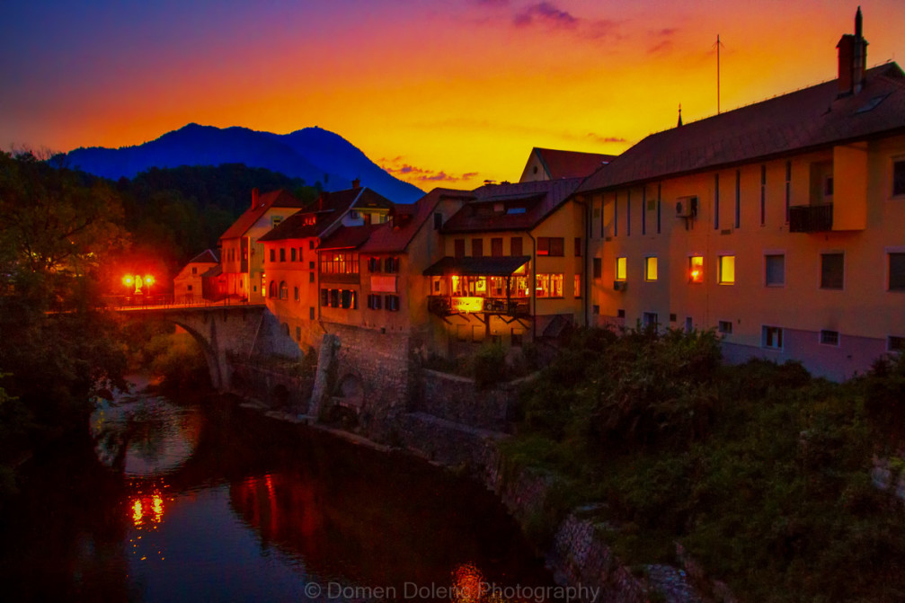 Skofja Loka, the most beautifully preserved medieval town in Slovenia