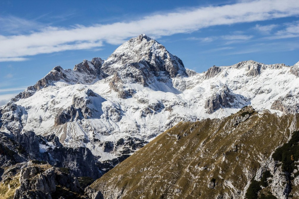 Triglav is the highest mountain in Slovenia and the highest peak of the Julian Alps