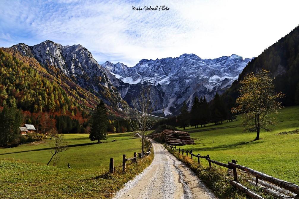 Jezersko is a very scenic valley in the Kamnik–Savinja Alps in Slovenia