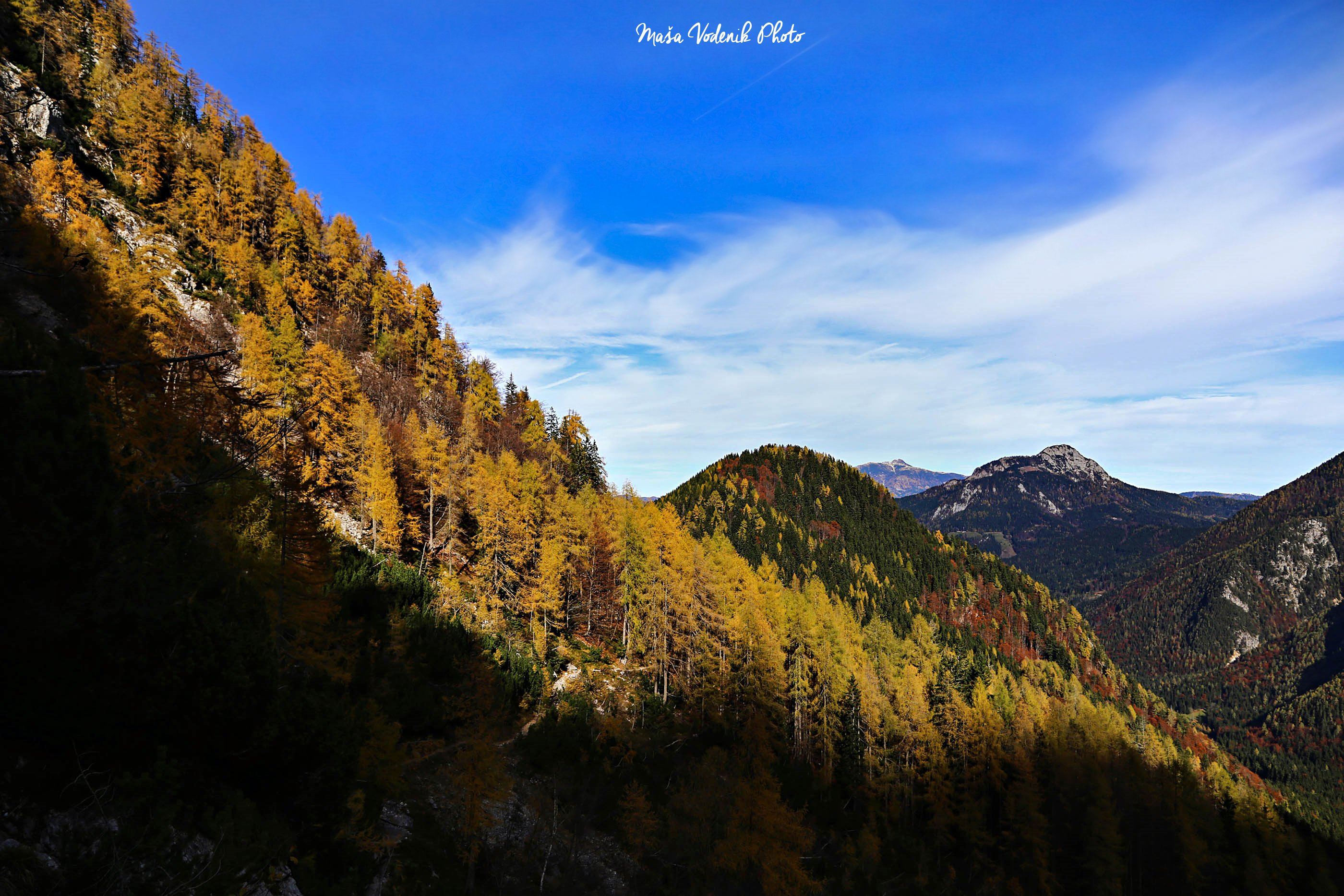 Where is the alps located. kamnik savinja alps autumn. view of the ...