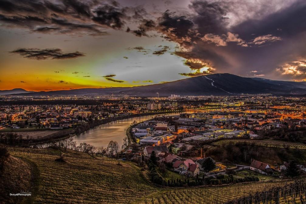 View of Maribor, Slovenia