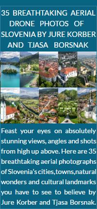 Slovenia aerial drone photos