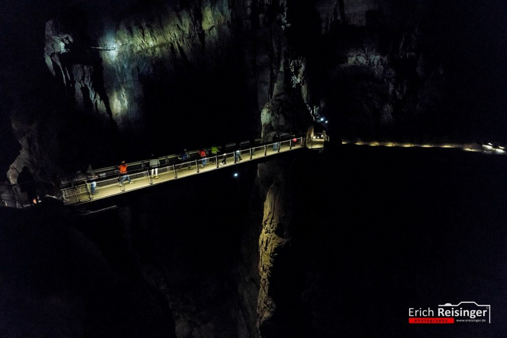 The Skocjan Caves with the largest discovered underground cavern in all of Europe