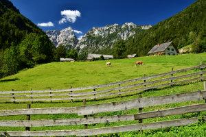 Robanov Kot Valley and Landscape Park, Slovenia