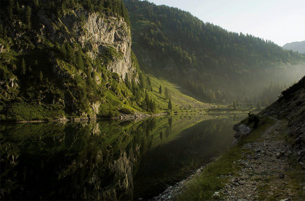 Lake Krn or Krnsko Jezero