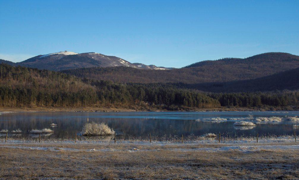 Lake Palcje or Palsko Jezero, an intermittent lake in the Pivka basin in southwestern Slovenia