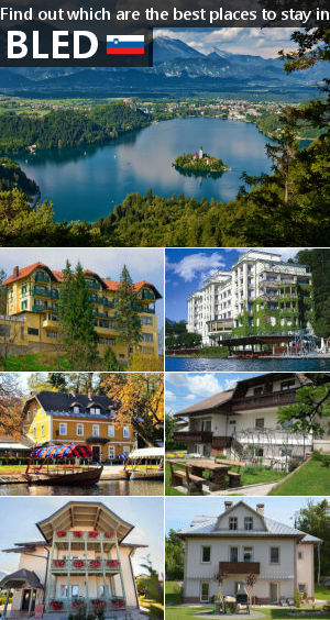 Places to stay in Bled, Slovenia