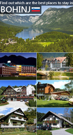 Places to stay in Bohinj, Slovenia